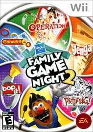 Rent Hasbro Family Game Night 2 for Wii