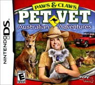 Rent Paws & Claws Pet Vet: Australian Adventure for DS