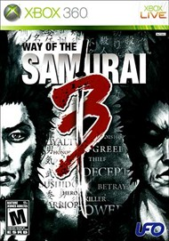 Rent Way of the Samurai 3 for Xbox 360