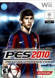 Rent Pro Evolution Soccer 2010 for Wii