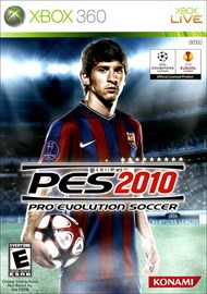 Rent Pro Evolution Soccer 2010 for Xbox 360