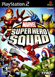 Rent Marvel Super Hero Squad for PS2