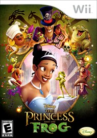Rent Disney The Princess and the Frog for Wii