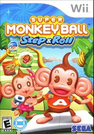 Rent Super Monkey Ball Step & Roll for Wii
