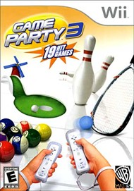 Rent Game Party 3 for Wii