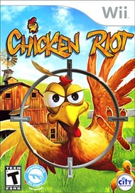 Rent Chicken Riot for Wii
