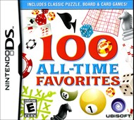 Rent 100 All-Time Favorites for DS