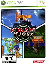 Rent Konami Classics: Vol. 1 for Xbox 360
