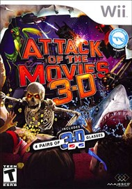 Rent Attack of the Movies 3D for Wii
