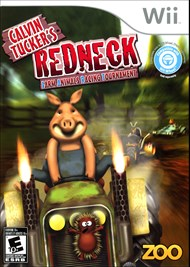Rent Calvin Tucker's Redneck: Farm Animals Racing Tournament for Wii