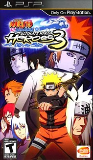 Buy Naruto Shippuden: Ultimate Ninja Heroes 3 for PSP Games