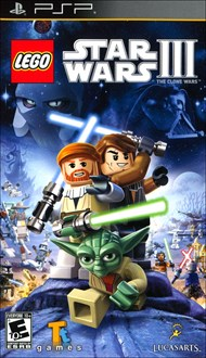 Rent LEGO Star Wars III: The Clone Wars for PSP Games