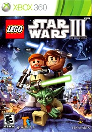 Rent LEGO Star Wars III: The Clone Wars for Xbox 360