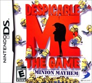 Rent Despicable Me: Minion Mayhem for DS