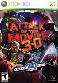 Rent Attack of the Movies 3D for Xbox 360