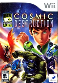 Rent Ben 10: Ultimate Alien Cosmic Destruction for Wii