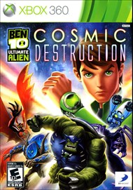 Rent Ben 10: Ultimate Alien Cosmic Destruction for Xbox 360