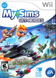 Rent MySims SkyHeroes for Wii