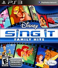 Rent Disney Sing It: Family Hits for PS3