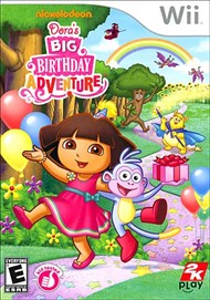 Rent Dora the Explorer: Dora's Big Birthday Adventure for Wii