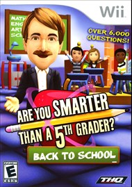 Rent Are You Smarter Than a 5th Grader: Back to School for Wii