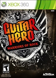 Rent Guitar Hero: Warriors of Rock for Xbox 360