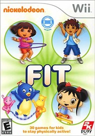 Rent Nickelodeon Fit for Wii