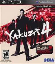 Rent Yakuza 4 for PS3