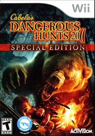 Rent Cabela's Dangerous Hunts 2011 for Wii