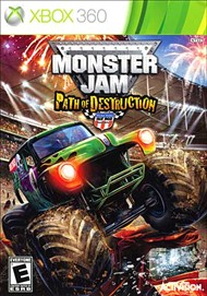 Rent Monster Jam: Path of Destruction for Xbox 360