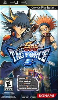 Rent Yu-Gi-Oh! 5D's Tag Force 5 for PSP Games