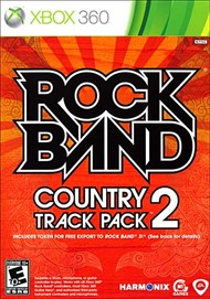 Rent Rock Band Country Track Pack Vol 2 for Xbox 360
