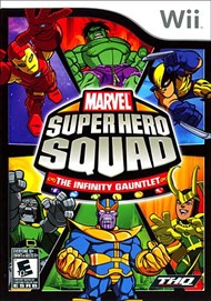 Rent Marvel Super Hero Squad: The Infinity Gauntlet for Wii