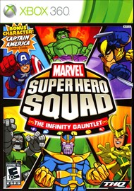 Rent Marvel Super Hero Squad: The Infinity Gauntlet for Xbox 360