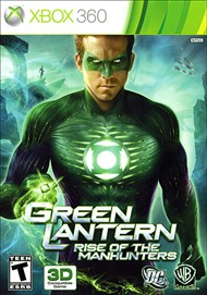 Rent Green Lantern: Rise of the Manhunters for Xbox 360