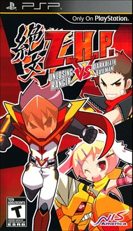 Rent Z.H.P. Unlosing Ranger vs. Darkdeath Evilman for PSP Games
