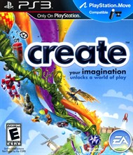 Rent Create for PS3