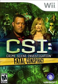 Rent CSI: Fatal Conspiracy for Wii