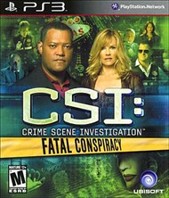 Rent CSI: Fatal Conspiracy for PS3