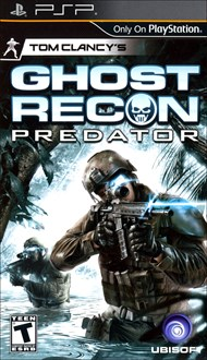 Rent Tom Clancy's Ghost Recon Predator for PSP Games