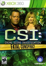 Rent CSI: Fatal Conspiracy for Xbox 360