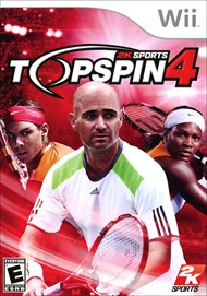 Rent Top Spin 4 for Wii