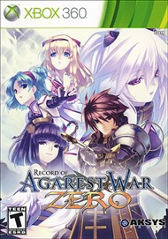 Rent Record of Agarest War Zero for Xbox 360