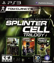 Rent Tom Clancy's Splinter Cell Classic Trilogy HD for PS3