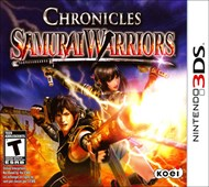 Rent Samurai Warriors Chronicles for 3DS