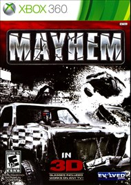 Rent Mayhem 3D for Xbox 360
