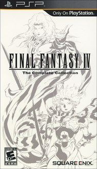 Rent Final Fantasy IV Complete Collection for PSP Games