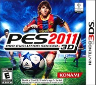 Rent Pro Evolution Soccer 2011 3D for 3DS