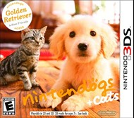 Rent Nintendogs + Cats: Golden Retriever & New Friends for 3DS