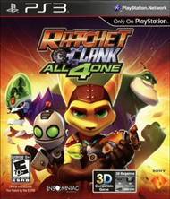 Rent Ratchet & Clank: All 4 One for PS3